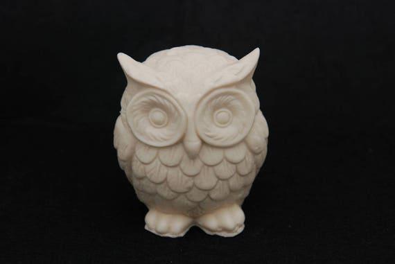 Owl S Molde de Silicona Molde Chocolate Jabón Arcilla Polimérica Resina de cera de vela