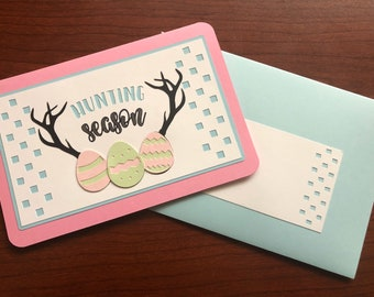 Hunting Season Easter Egg Card