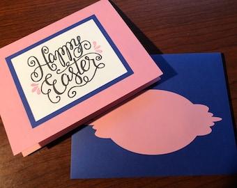 Framed Happy Easter Card