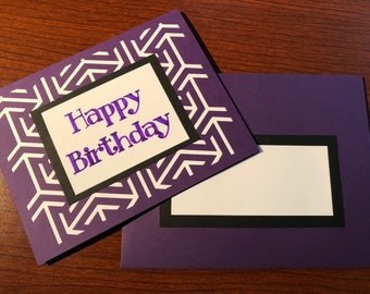 Bold Patterned Birthday Card