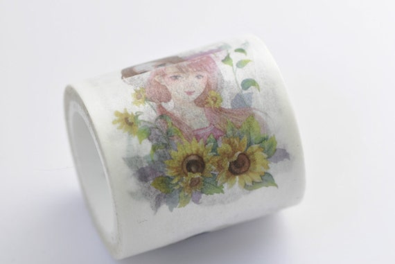 Elegant Girls Washi Tape /Masking Tape 40mm x 5M No.12215