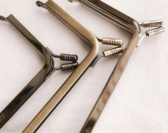 "10cm(4"") Metal Purse Frame Clutch Purse Frame Glue-In Style 10cm x6cm (4""x 2 1/3"")"
