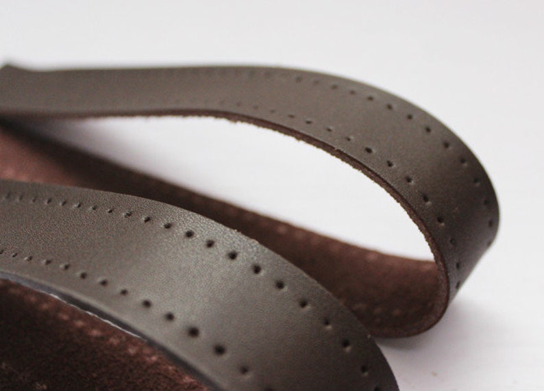 Sewing Leather Strap Set