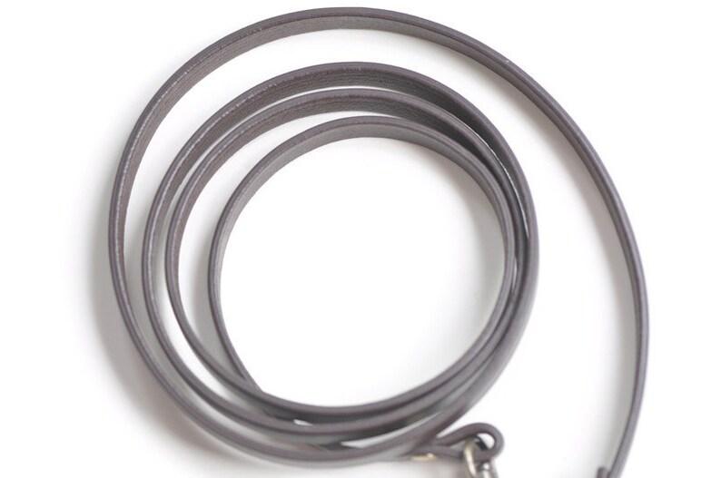 7mm Width Leather Shoulder Handbag Strap 110cm