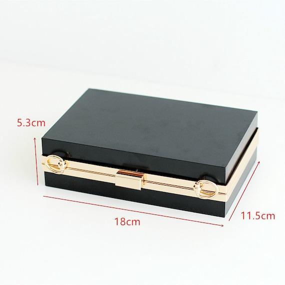 Purse Frame Clutch Bag Glue-In Purse Frame 18x6.5cm 18cm 7