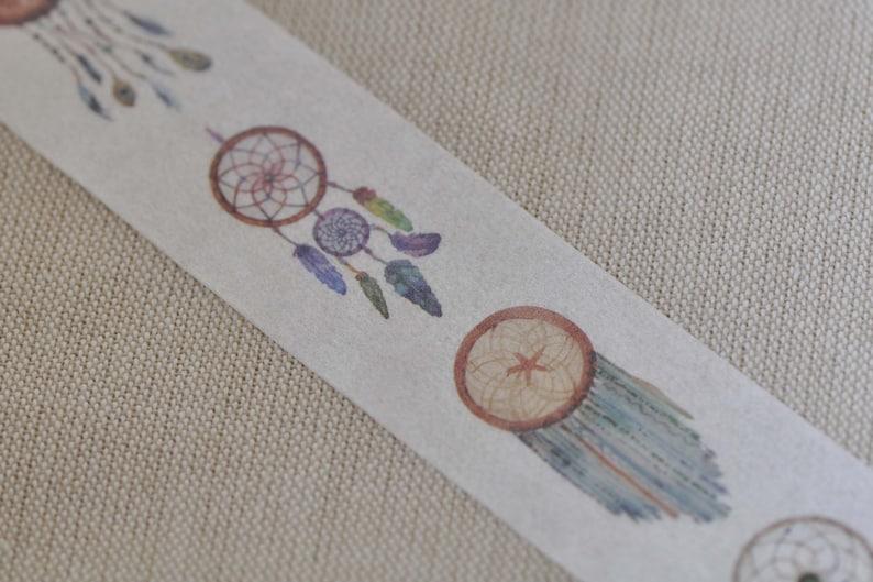 Fancy Tassel Design Washi Tape 30mm Wide x 5M Long No.12252