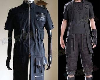 final fantasy xv cosplay cor leonis jacket costume etsy
