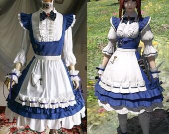 Final Fantasy XIV Cosplay Black Mage Costume | Etsy