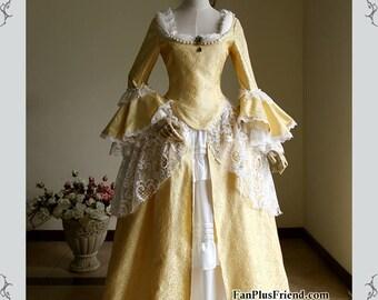 82f3f6bc19e Victorian Dresses 18th Century Masquerade Fancy Dress Handmade Women Costume