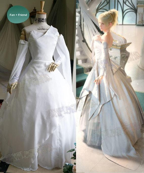 Final Fantasy Xv Ff15 Game Cosplay Luna Lunafreya Nox Etsy