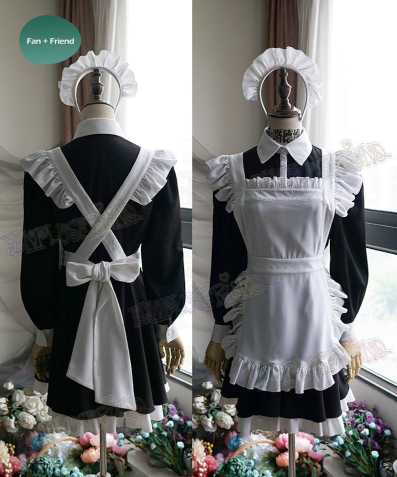 Kakegurui Cosplay Midari Ikishima Maid Costume   Etsy