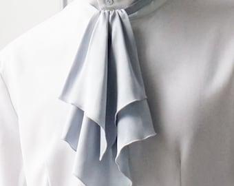 Elegant Gothic Aristocrat Dandy Ouji Slim Jabot/Cravat*2colors
