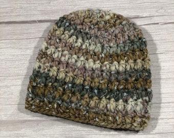 Crochet hat, Child hat, Teen hat, Colorful , Unique 015