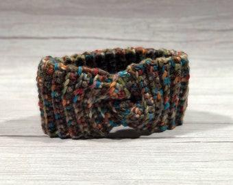 Crochet headband, Adult headband, Teen headband, Soft Woll