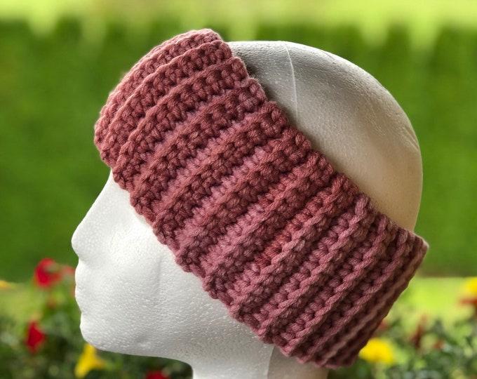 Crochet headband, Adult headband, Teen headband, Soft Woll, Colorful