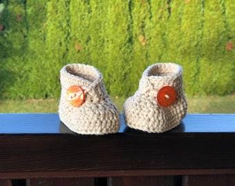 Crocheted slippers - Merino Superwash - Limited Edition - New - Newborn Baby - Baby - Baby Gift - 2021 edition