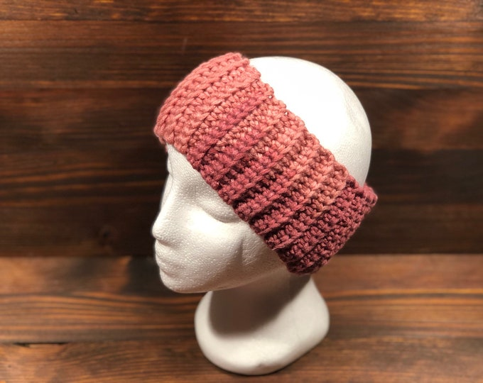 Crochet headband, Adult headband, Teen headband, Soft Woll