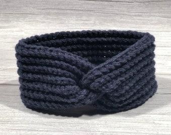 Crochet headband, Adult headband, Teen headband, Soft Woll, Festive, Shiny