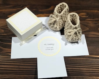 Pregnancy announcement, baby gift, daddy gift, new