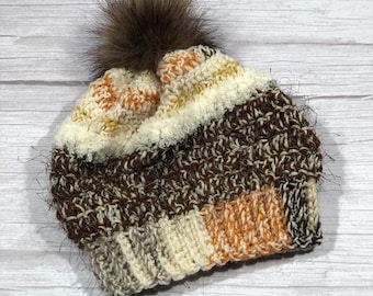 Crochet hat, Child hat, Teen hat, Colorful , Unique 018
