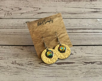 Cabochon Long Earring, Cabochon Earring 10 mm, 12mm, Gift, Jewelry, Earings, Nr.13