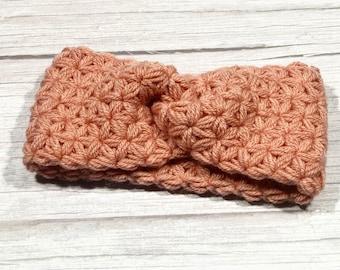 Merino superwash, Crochet earwarmer, Adult headband, Teen headband, Soft 100% merino yarn, Star Stitch Crochet, NEW
