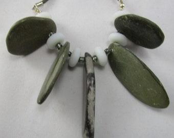Beach Pebbles Necklace