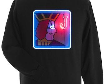 ONE EYED Jack/'s Sweatshirt Inspired by the cult TV series Twin Peaks