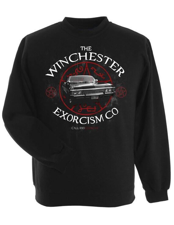 The Winchester Exorcism Co SUPERNATURAL Impala sweatshirt