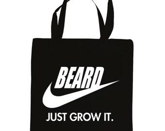 BEARD, just grow it tote bag