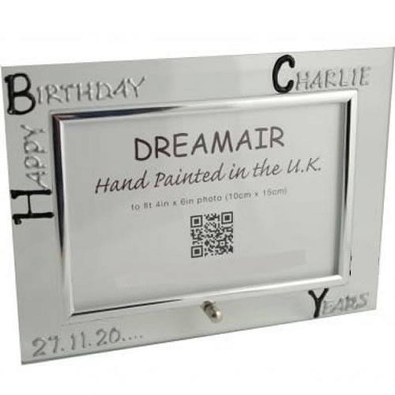Customized 90th Birthday Frames Free Postage In The Uk Etsy