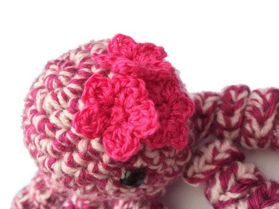 Spielzeug-Quallen häkeln Quallen Amigurumi Quallen Rosa | Etsy