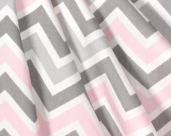 Zoom Zoom Bella Twill Curtains, Window Treaments, Chevron Curtains, Living  Room Curtains,