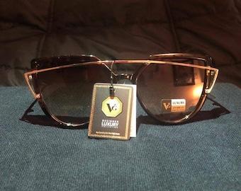 Tortoise Cat Eye Fashion Sunglasses