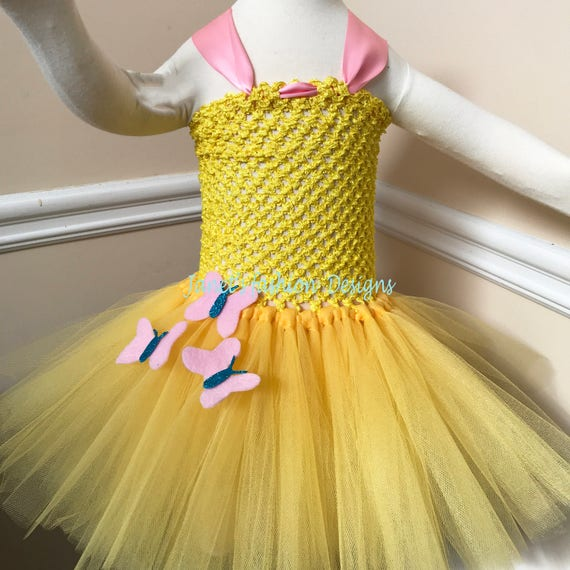 Mon petit poney Tutu Dress - Fluttershy Tutu Dress - robe Tutu filles - Noël Tutu Dress - robe Tutu inspiré de Fluttershy