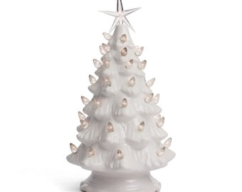 White Christmas Tree.White Christmas Tree Etsy