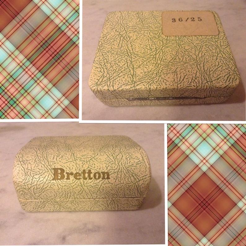 Vintage Bretton Gold Tone Swordfish Tie Tack And Cufflinks