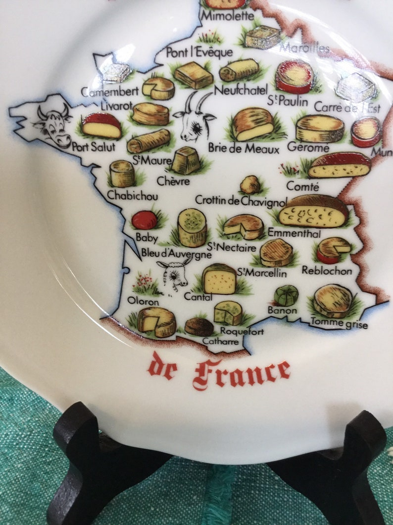 Limoges Cheese plate