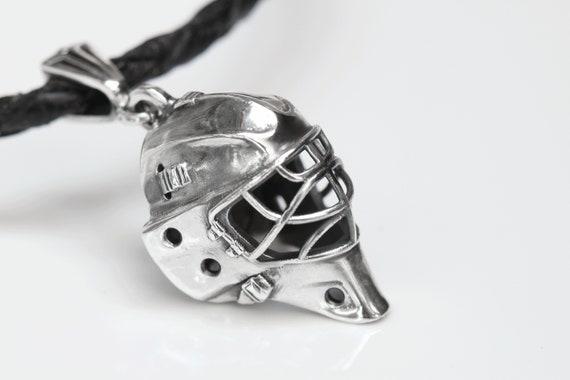 Hockey Goalie Helmet Pendant Hockey Goalie Mask Gift For Etsy