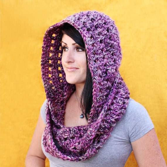 Crochet Pattern Fireside Scoodie Pdf Etsy