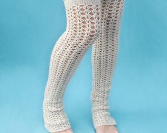 Crochet Pattern - Swell Leg Warmers - PDF