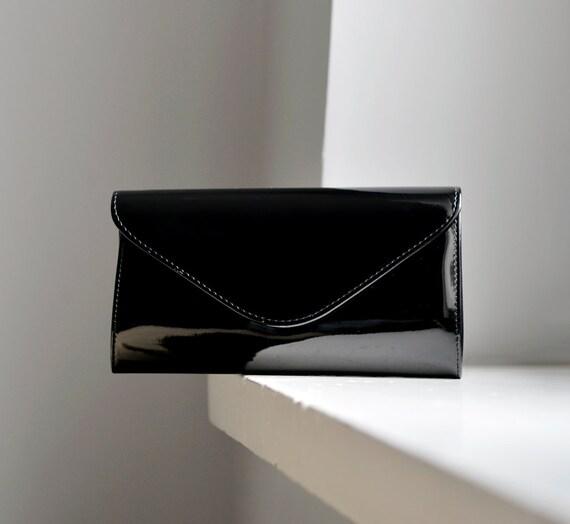 79a05f19db Small Black Clutch Purse black clutch for women small black | Etsy