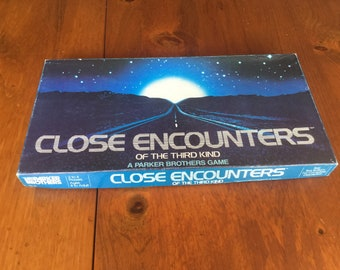 Vintage Close Encounters of the Third Kind Board Game