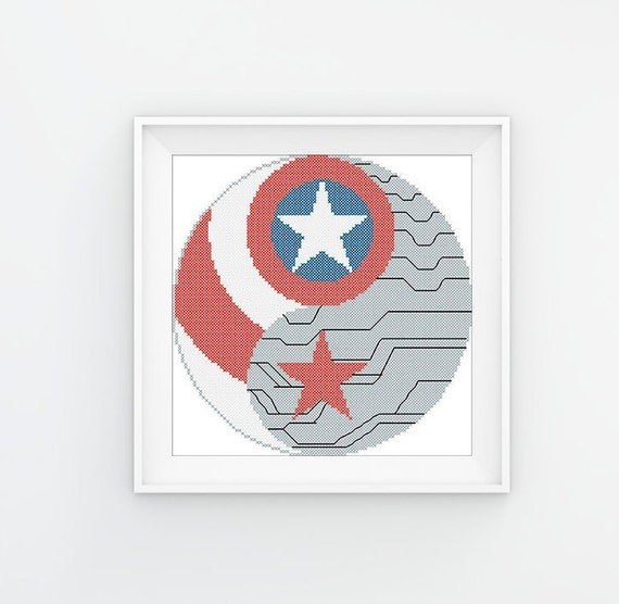 Bogo Free Logo Captain America The Winter Soldier Marvel Etsy
