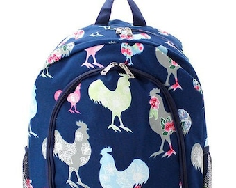 78bab9ab47e5 Chicken backpack | Etsy