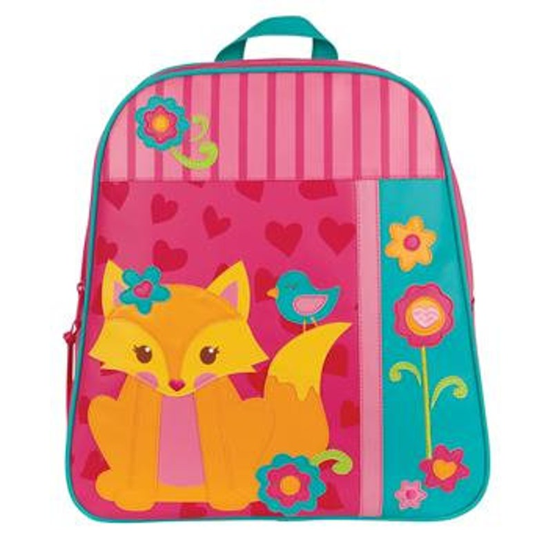 Fox Monogrammed School Backpack Stephen Joseph