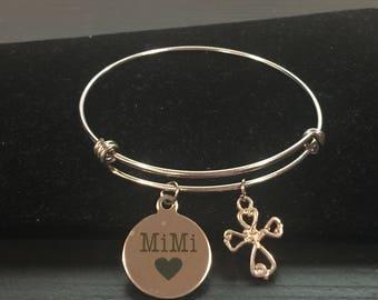 Mimi Adjustable Bangle Style Bracelet