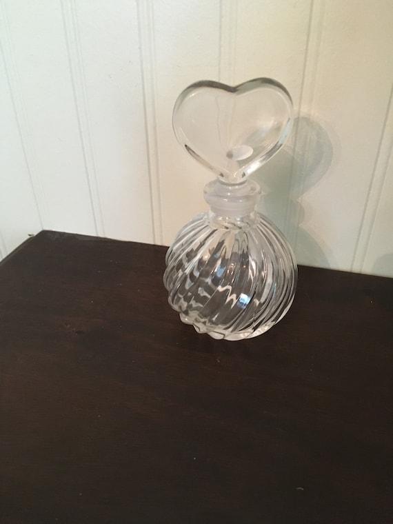 VINTAGE GLASS PERFUME BOTTLE & DAUBER