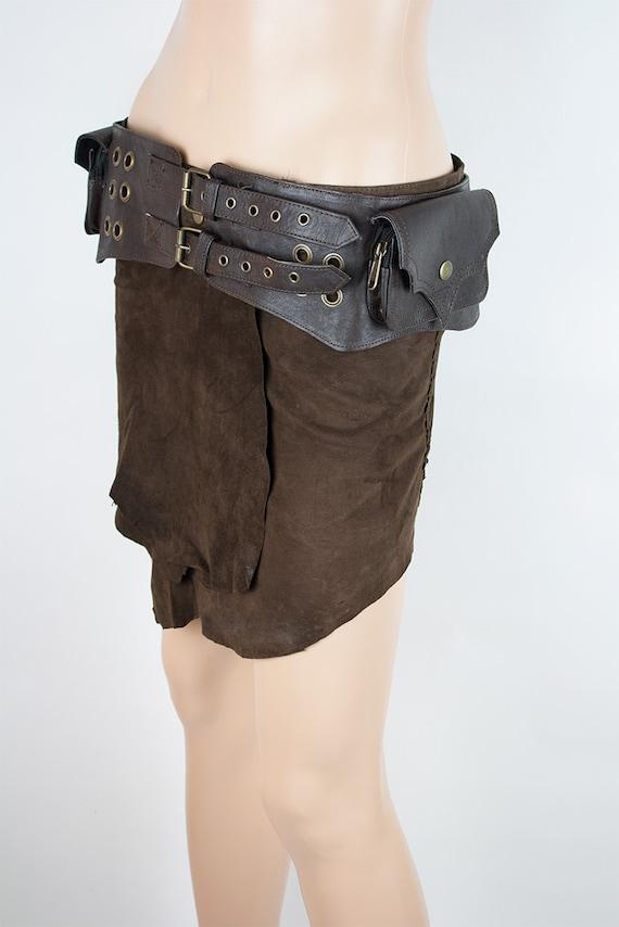 Gravure ceinture homme sac de ceinture utilitaire steampunk   Etsy 4abdec0e98e