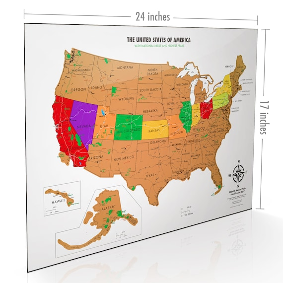 Scratch Off USA Map - National Parks - United States Map Poster - White on map of idaho balanced rock, map showing counties of idaho, map of idaho showing cities, map of idaho and montana, map of great basin usa, map of madison usa, map of sandpoint idaho and surrounding area, map of rocky mountains in idaho, map of osburn idaho, map of southern idaho, map of tensed idaho, map of jamaica usa, map of idaho capitol building, driggs idaho map usa, map of state of washington usa, map of northern idaho, map of idaho state, map of northwest territory usa, map of san antonio usa, map of idaho college,